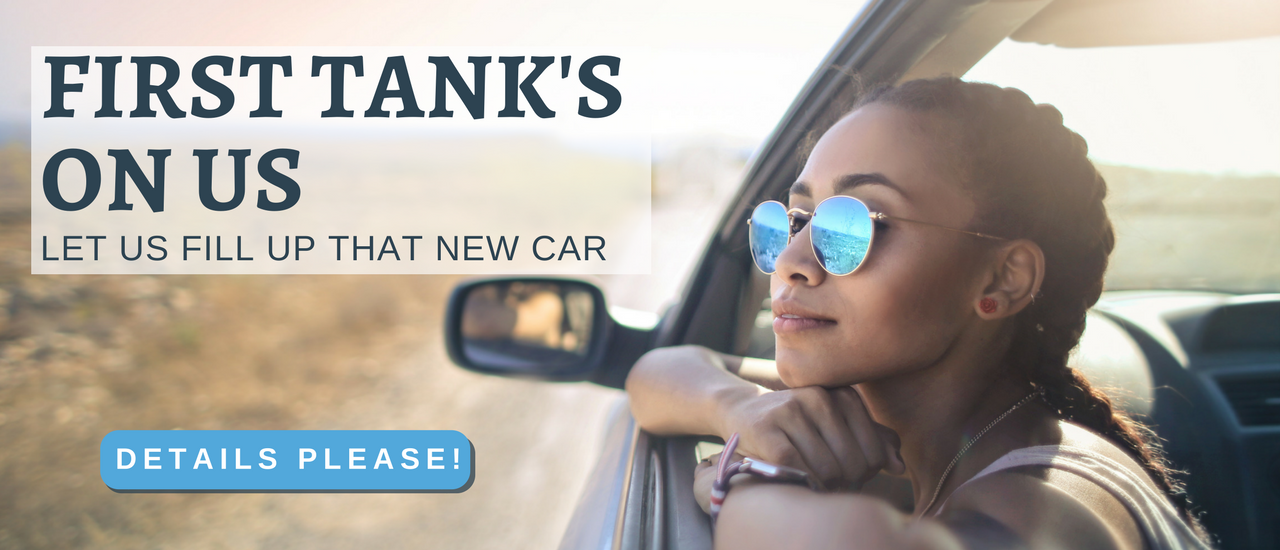 May Promotion- First Tank's On Us