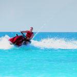 Man on a jet ski
