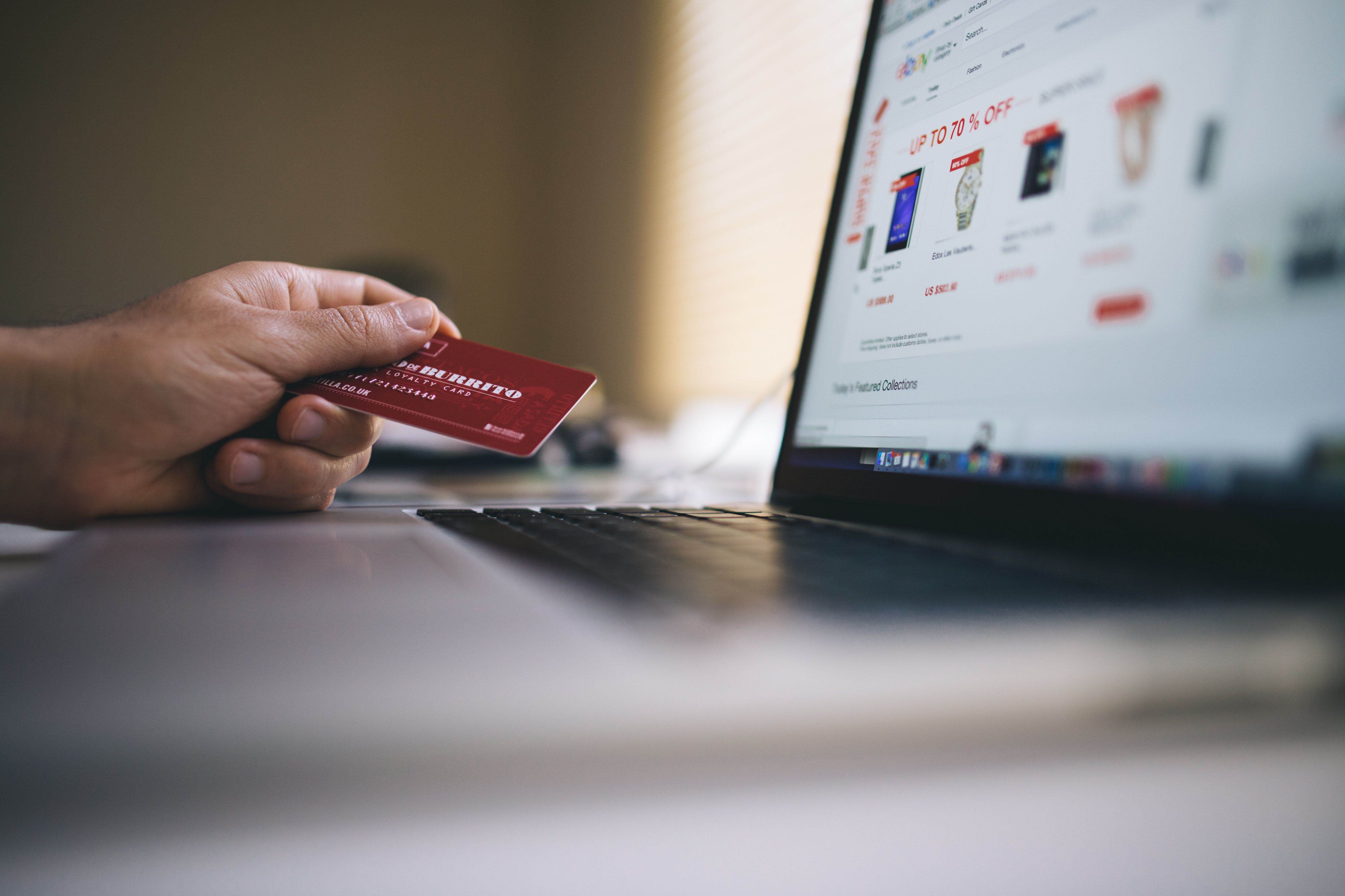 buying stuff online with credit card